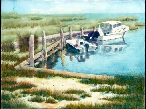 Drum Inlet Harbor